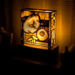 Agate lamp for sale