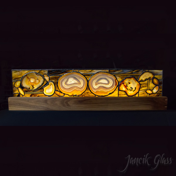 agate mantle lamp