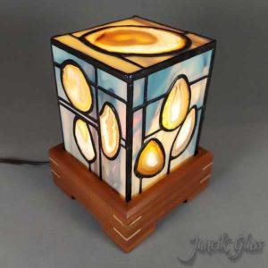 mini agate lamp